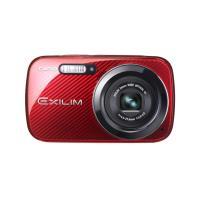 CASIO 卡西欧 EX-N50 数码相机 红色(美颜模式 1610万像素 6倍光变 2.7寸液晶屏 26mm广角 HD摄像)