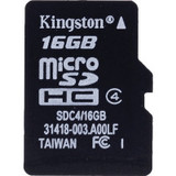Kingston 金士顿 16GB Micro SDHC(TF)Class4 存储卡