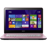 "SONY 索尼 SVF14326SCP 14""笔记本电脑 粉色 i5-4200U4999"